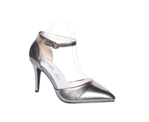Heeled court shoes R202