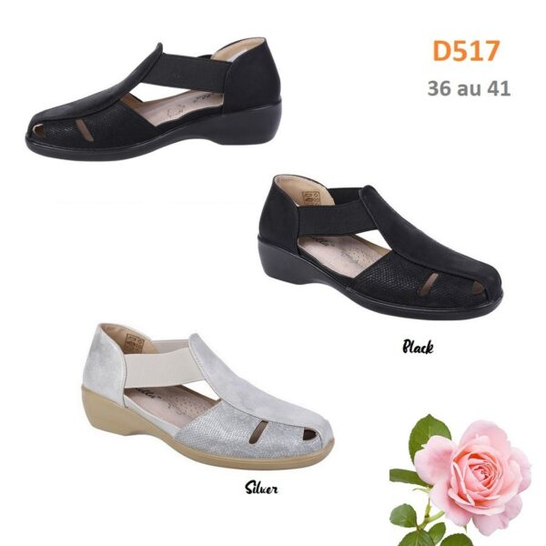 Loafers open on the sides D517