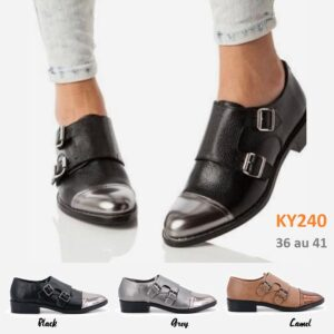 Loafers two colors KY240